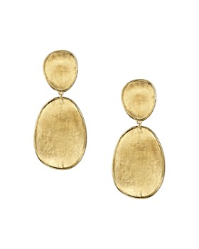 Marco Bicego - 18K Yellow Gold Lunaria Two Tiered Drop Earrings
