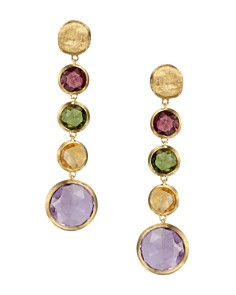 Marco Bicego Jaipur 18K Yellow Gold And Multi-Stone Drop Earrings - Bloomingdale's_0