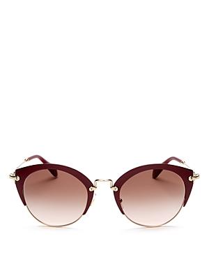 2fcca6bbd30 EAN 8053672576313 - Miu Miu Oversized Round Sunglasses