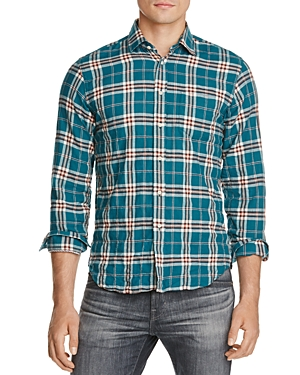 Haspel Constance Woven Regular Fit Button-Down Shirt
