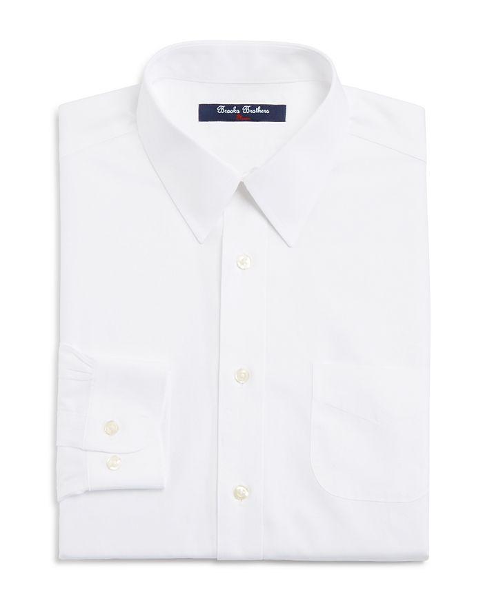 Brooks Brothers - Boys' White Dress Shirt - Little Kid, Big Kid