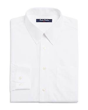 Brooks Brothers Boys White Dress Shirt  Little Kid Big Kid