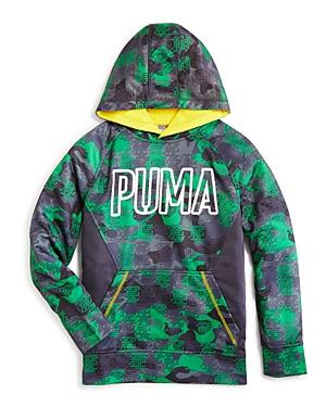 Puma Boys' Camo Print Hoodie - Little Kid