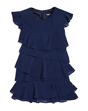 Bardot Junior Girls Layered Ruffle Dress Sizes 47  100 Exclusive