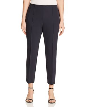 LAFAYETTE 148 NEW YORK PLUS Gramercy Acclaimed-Stretch Pants, Plus Size in Ink
