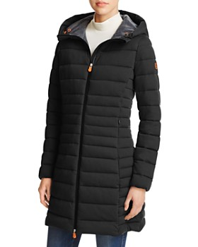 Save The Duck - Angy Long Puffer Coat - 100% Exclusive