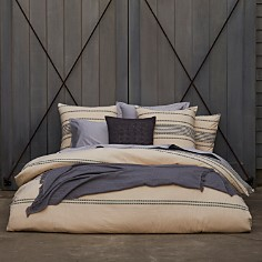 Coyuchi Organic Cotton Ivory Rippled Stripe Bedding Collection - Bloomingdale's_0