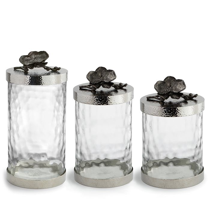 Michael Aram - Black Orchid Canisters
