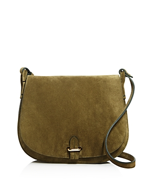 Celine Lefebure Emma Suede Saddle Bag - 100% Exclusive