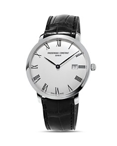 Frederique Constant Slimline Watch with Leather Strap, 40mm - Bloomingdale's_0