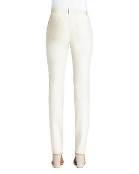 Lafayette 148 New York - Thompson Waxed Slim Jeans in Ecru