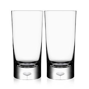 Orrefors Intermezzo Satin Highball Glass, Set of 2