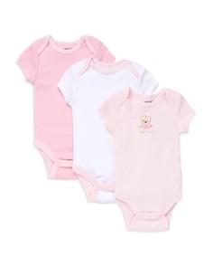 Little Me Girls' Bear Bodysuit, 3 Pack - Baby - Bloomingdale's_0