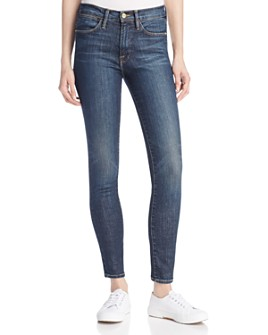 FRAME - Le High Ankle Skinny Jeans in Harvard