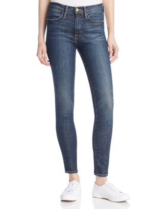 6a8b1f373a46a FRAME Le High Ankle Skinny Jeans in Harvard | Bloomingdale's