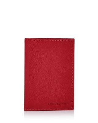 $Longchamp Le Foulonne Passport Case - Bloomingdale's