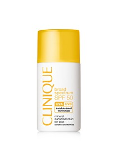 Clinique SPF 50 Mineral Sunscreen Fluid for Face - Bloomingdale's_0