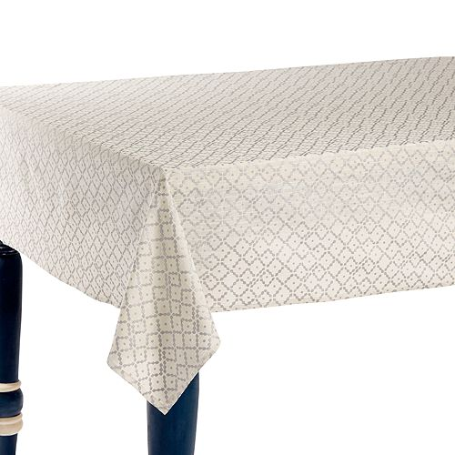 "John Robshaw - Nashi Tablecloth, 70"" x 108"""