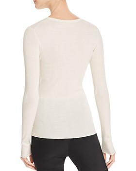 Theory - Mirzi B Merino Wool Top