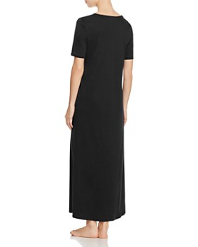 Hanro - Valencia Short Sleeve Long Gown