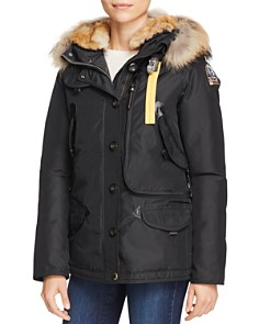 Parajumpers - Doris Mixed Fur Trim Down Coat