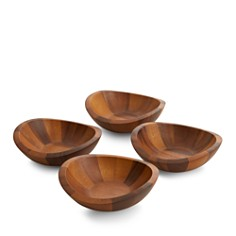 Nambé Braid Salad Bowls, Set of 4 - Bloomingdale's Registry_0