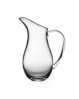 "Nambé - Moderne Glass 11"" Pitcher"