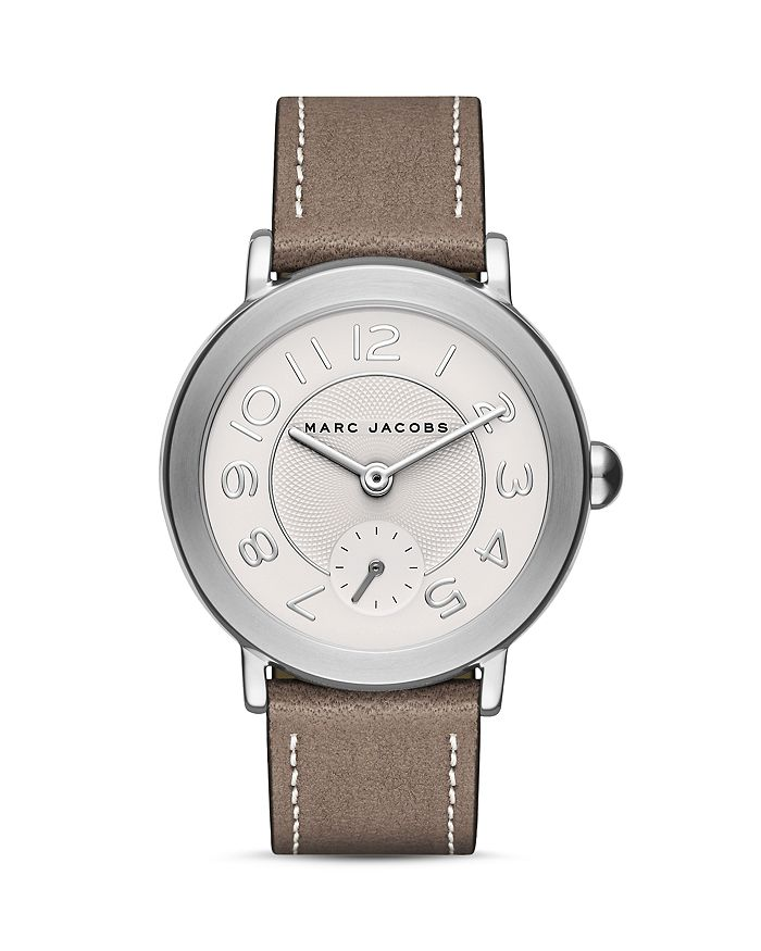 MARC JACOBS - Riley Leather Strap Watch, 36mm