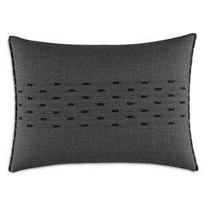 Vera Wang Scribble Print Center Folding Decorative Pillow, 15 x 20