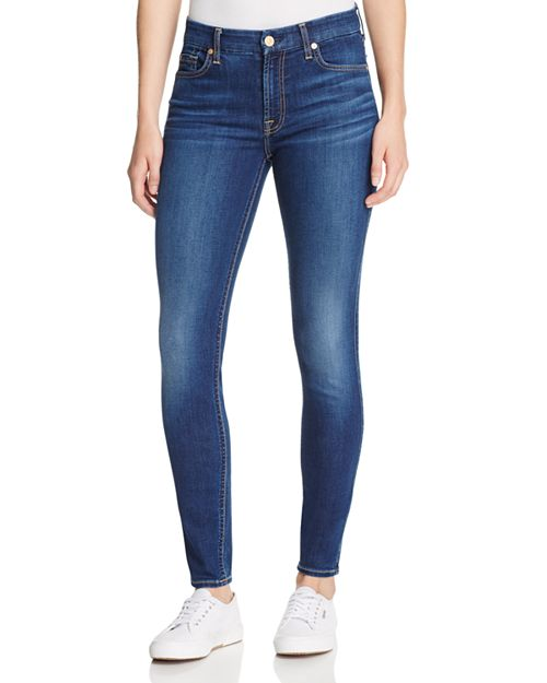 7 For All Mankind - b(air) Skinny Ankle Jeans in Duchess