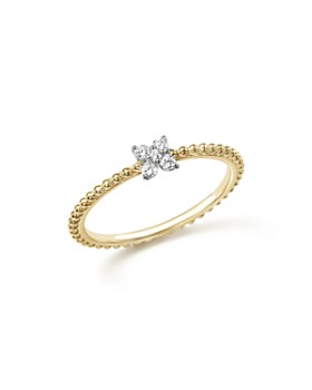 Bloomingdale's - Diamond Cluster Beaded Ring in 14K Gold, .10 ct. t.w. - 100% Exclusive