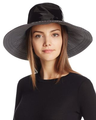 DRIPTIDOO PATENT BUCKET RAIN HAT - BLACK
