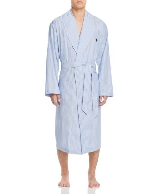 $Polo Ralph Lauren Andrew Stripe Robe - Bloomingdale's