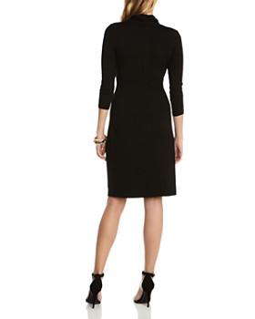 Karen Kane - Cascade Faux Wrap Dress