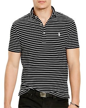Polo Ralph Lauren Striped Featherweight Regular Fit Polo Shirt