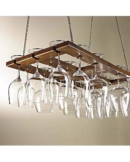 Wine Enthusiast - Hanging Glass Rack