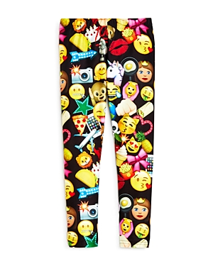 Terez Girls' Emoji Leggings, Sizes 4-6X - 100% Exclusive