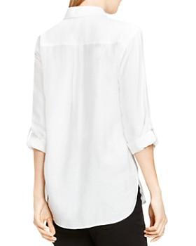VINCE CAMUTO - Roll Sleeve Utility Shirt