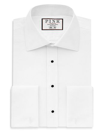 Thomas Pink - Marcella Evening Regular Fit French Cuff Dress Shirt