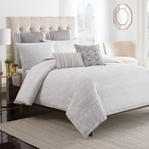 cupcakes and cashmere Moroccan Geo Duvet Cover, Full/Queen