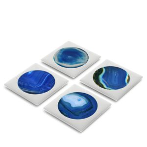 Anna new york by RabLabs Circulo Coasters, Set of 4 - 100% Exclusive