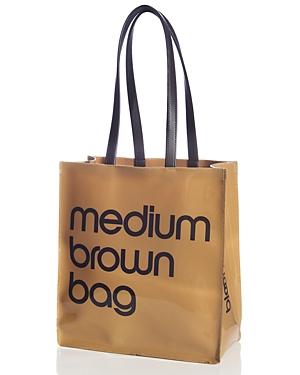 Bloomingdale's Medium Brown Bag - 100% Exclusive