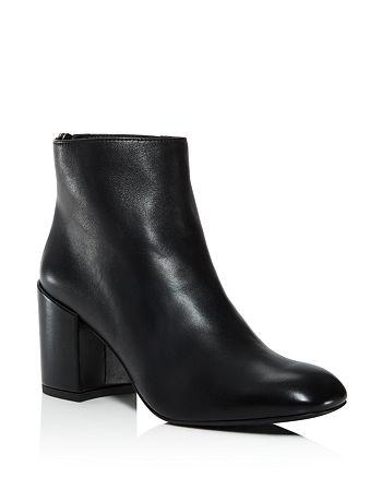 Stuart Weitzman - Women's Bacari Leather High-Heel Booties