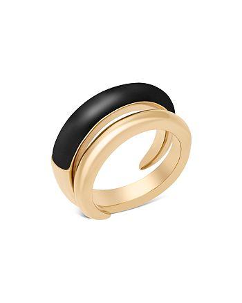 Michael Kors - Two Tone Spiral Ring