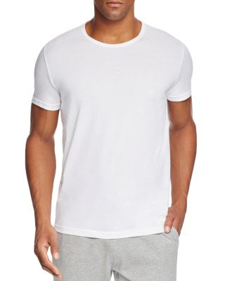 cheese Mens Long Sleeve Crew-Neck Pure Color Casual Tops T-Shirts