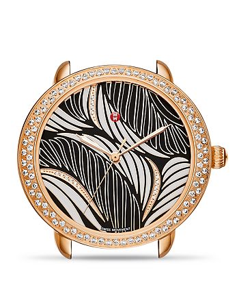 MICHELE - Serein 16 Willow Diamond Dial Watch Head, 34mm