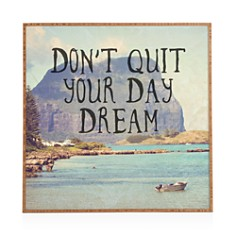 "Deny Designs - Day Dream Framed Print, 12"" x 12"""