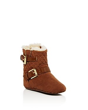 Michael Michael Kors Infant Girls Faux Fur Lined Boots  Baby
