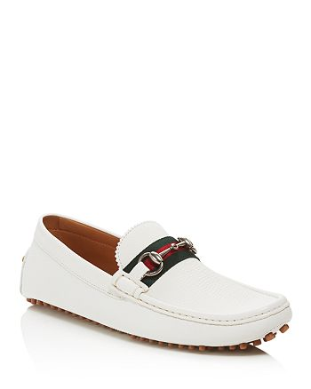 f7982a0fc Gucci Men's Damo Leather Horsebit Drivers | Bloomingdale's