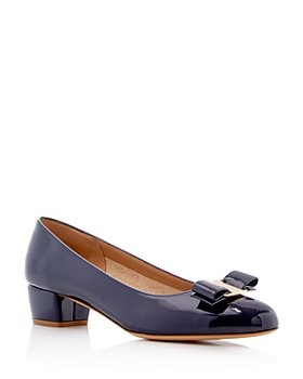 Salvatore Ferragamo - Women's Vara Leather Pumps